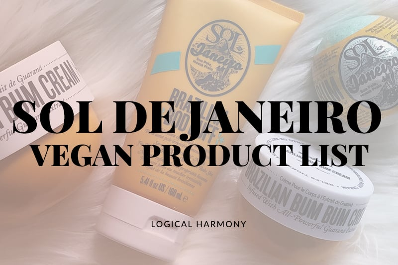Sol de Janeiro Vegan Product List
