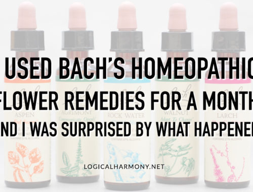 I Used BACH Homeopathic Flower Remedies for a Month and I Was Surprised by What Happened (Sponsored)