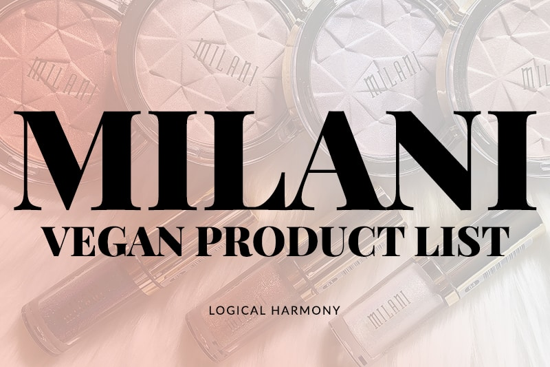 Milani Vegan Products List