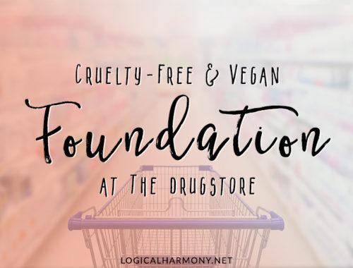 Drugstore Cruelty-Free & Vegan Foundation