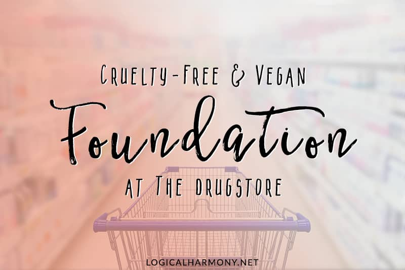 Drugstore Cruelty-Free & Vegan Foundation