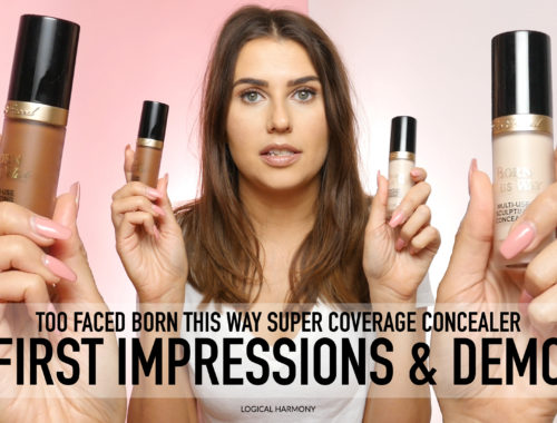 Too Faced Born This Way Super Coverage Concealer First Impressions & Demo