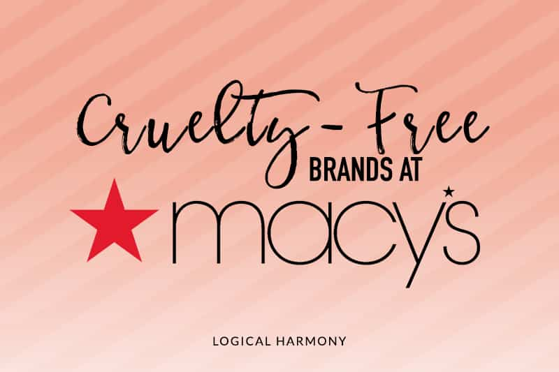Cruelty-Free Brands at Macy's
