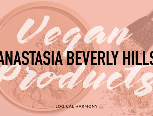 Anastasia Beverly Hills Vegan Products List