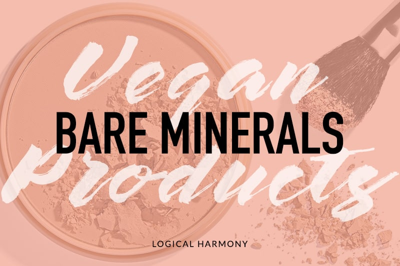 BareMinerals Vegan Product List