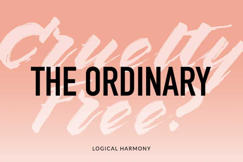 Is The Ordinary Cruelty-Free?