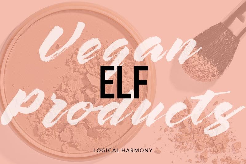 ELF Vegan Product List