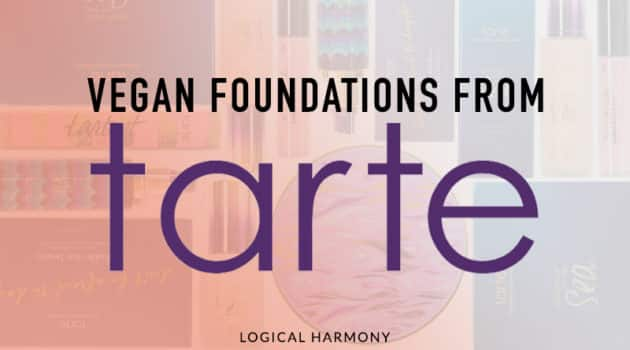 Tarte Vegan Foundation Guide