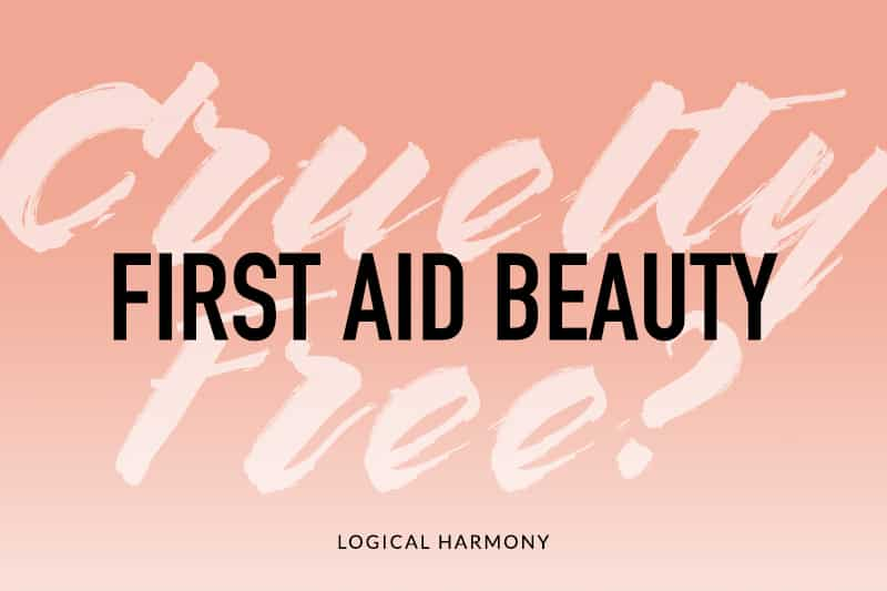 Is First Aid Beauty Cruelty-Free?