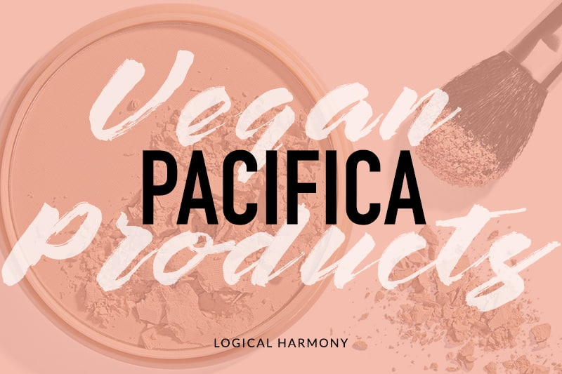 Pacifica Vegan Product List