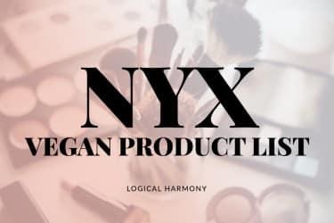 NYX Vegan Products List