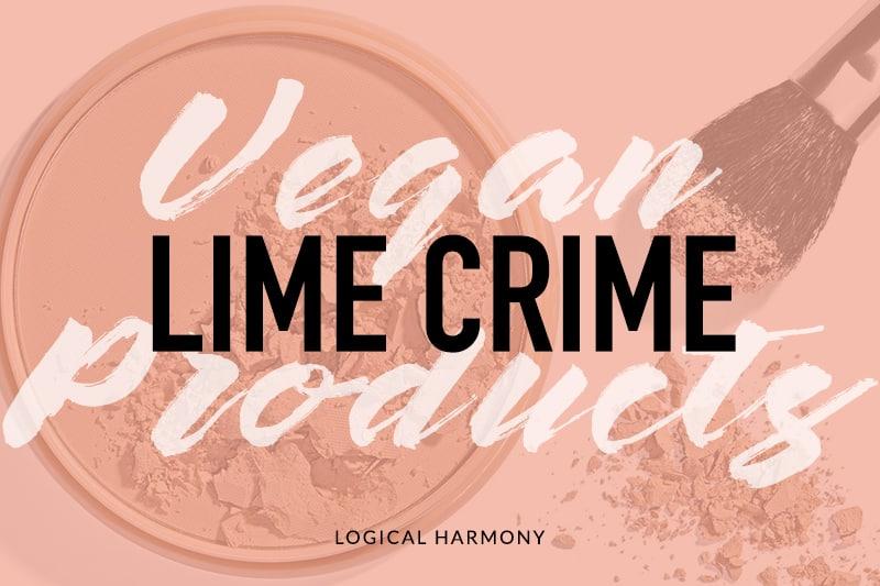 Lime Crime Vegan Product List