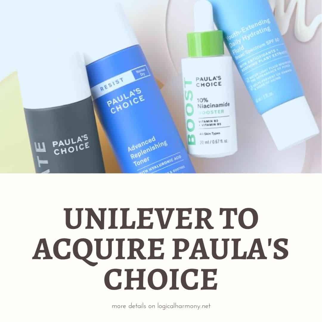 Unilever to Acquire Paula's Choice