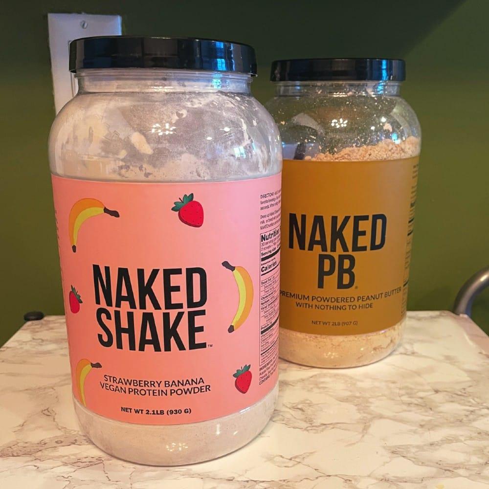 Naked Nutrition Strawberry Banana Naked Shake
