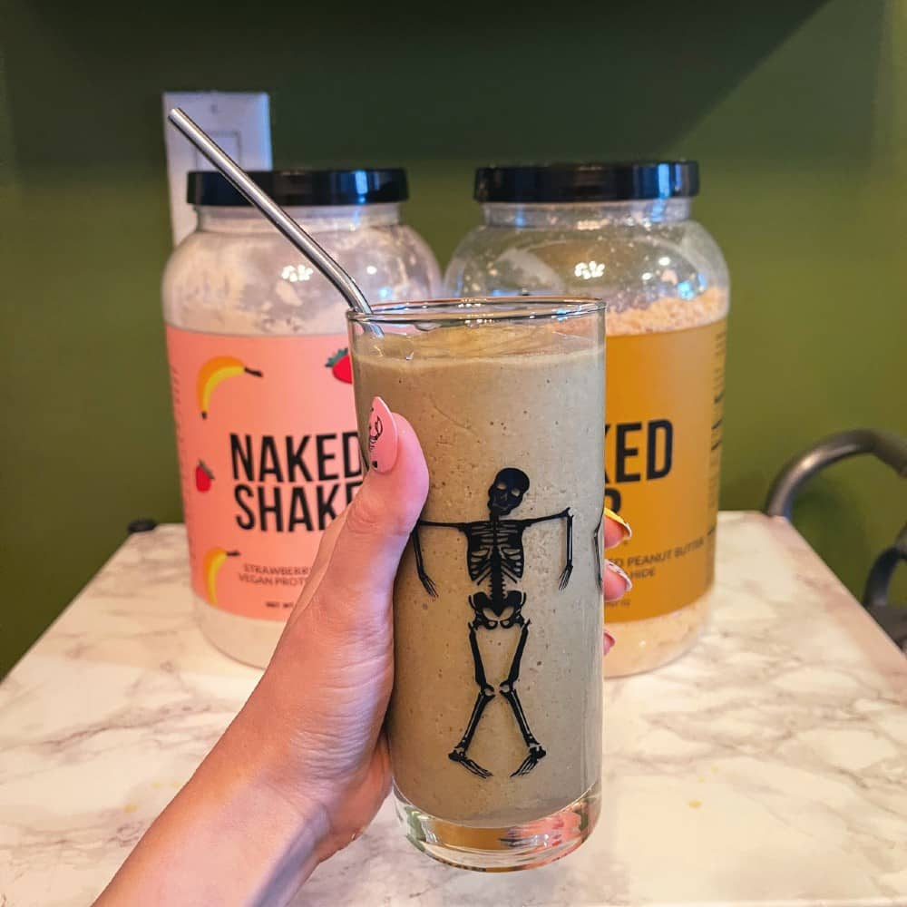 Naked Nutrition Strawberry Banana & Peanut Butter Protein Smoothie